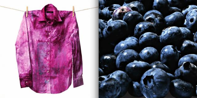 """DIY Part 1: Blueberry Shirt ย้อมเสื้อตัวเก่าสีขาว ให้เป็นสีม่วงตัวใหม่ด้วย """"บลูเบอร์รี่"""" 14 - DIY"""
