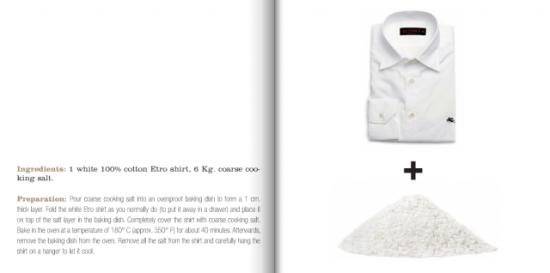 """DIY Part 3: Shirt Cooked in Salt เปลี่ยนเสื้อตัวเก่าสีขาว เป็นเสื้อตัวใหม่สีน้ำตาล ด้วย """"เกลือ"""" 15 - Salt"""