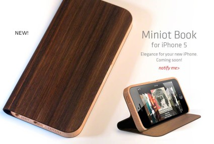 1 MiniotBook 425x286 iPhone 5 Cases ออกวางจำหน่ายอย่างคึกคัก