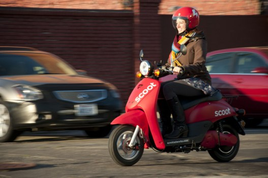 Scoot Network...ให้เช่ารถสกุ๊ตเตอร์ไฟฟ้าควบคุมรถด้วย Mobile App 14 - electric scooter