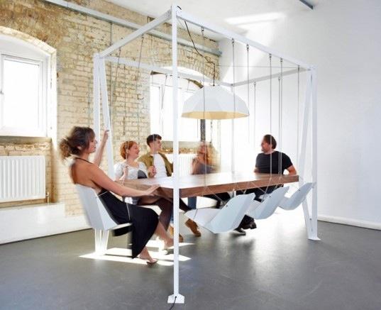 โต๊ะประชุมชิงช้า...เปลียนการประชุมที่น่าเบื่อเป็นกิจกรรมสนุกๆ 13 -