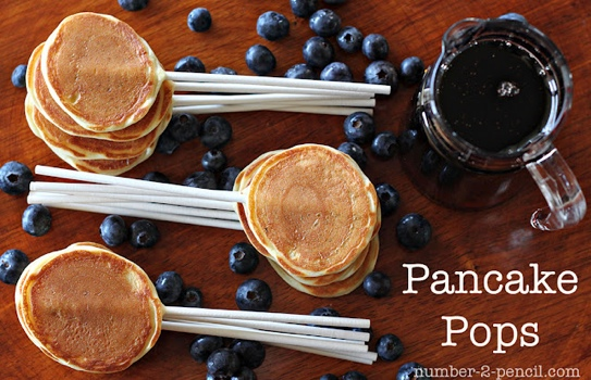 D.I.Y. Pancake Pop...อมยิ้มแพนเค้ก