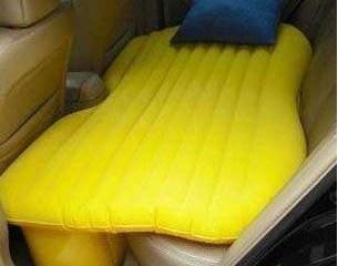 รถติดแบบนี้...มาเปลี่ยนที่นั่งหลังเป็นเตียงด้วยเบาะลมดีกว่า..