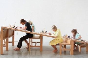 Growth Table..โต๊ะทำงานตัวเดียวสำหรับทุกคนในครอบครัว 16 -