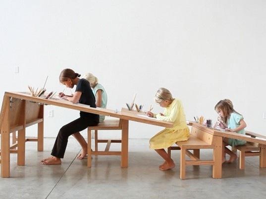 25550929 061954 Growth Table..โต๊ะทำงานตัวเดียวสำหรับทุกคนในครอบครัว