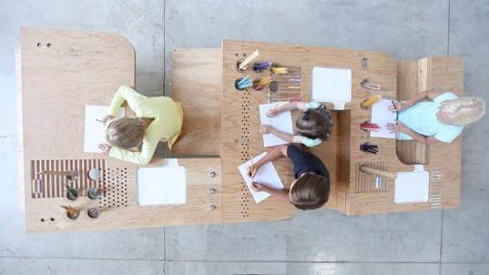 25550929 062002 Growth Table..โต๊ะทำงานตัวเดียวสำหรับทุกคนในครอบครัว
