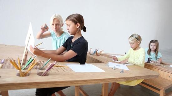 25550929 0620321 Growth Table..โต๊ะทำงานตัวเดียวสำหรับทุกคนในครอบครัว