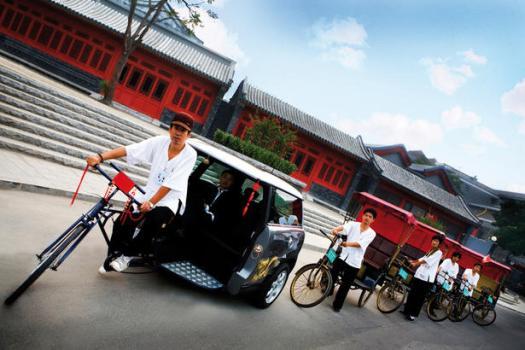 MINI Clubman Rickshaw 2 525x350 Marketing Mini by Access Agency รถมินิในรูปใหม่ มินิสามล้อ