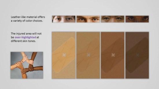 AmoeBand พลาสเตอร์ติดแผลตามเฉดสีผิว และ พลาสเตอร์ที่สามารถเปลี่ยนรูปร่างตามสิ่งแวดล้อม 7 -