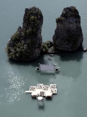 Floating cinema โรงหนังลอยน้ำที่เกาะยาวน้อย 15 - cinema