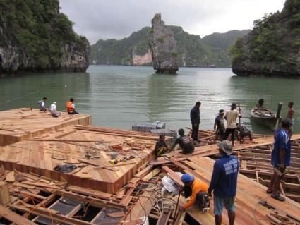 Floating cinema โรงหนังลอยน้ำที่เกาะยาวน้อย 25 - cinema