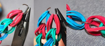 closeends 425x187 DIY.Rubber Band Chain Necklace&Bracelet