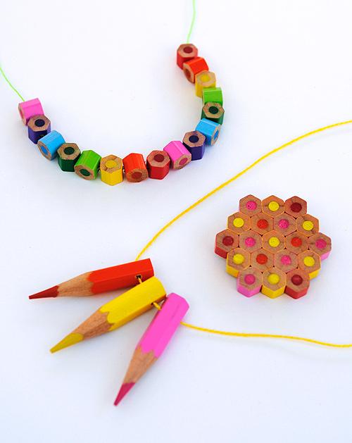 DIY.jewelry จากดินสอสีไม้ 13 - color