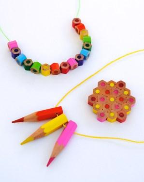 DIY.jewelry จากดินสอสีไม้ 14 - color