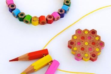 DIY.jewelry จากดินสอสีไม้ 13 - DIY