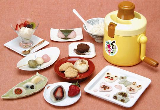 Kururin Mocchi Rice Cake Maker ขนมโมจิทำเองได้ง่ายนิดเดียว 13 - Kururin Mocchi Rice Cake Maker