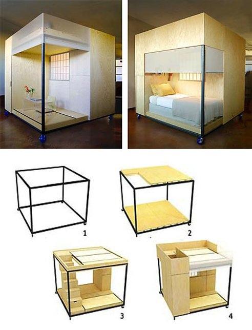 25551007 175407 Mobile cube...ชุดพักอาศัยเคลื่อนที่ขนาดเล็กแนวคิดแบบเซ็น