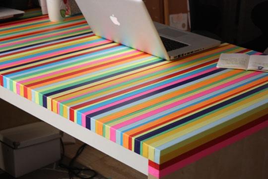 25551013 195325 3ไอเดีย DIY ทำโต๊ะใหม่จากของเก่า