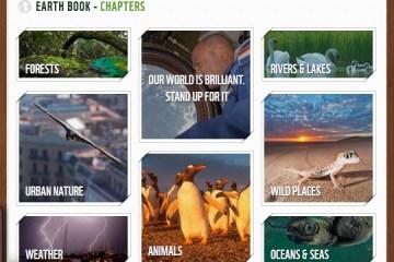 WWF Earth Book 2012 Project เฟชบุ๊คของธรรมชาติ 4 - Green project