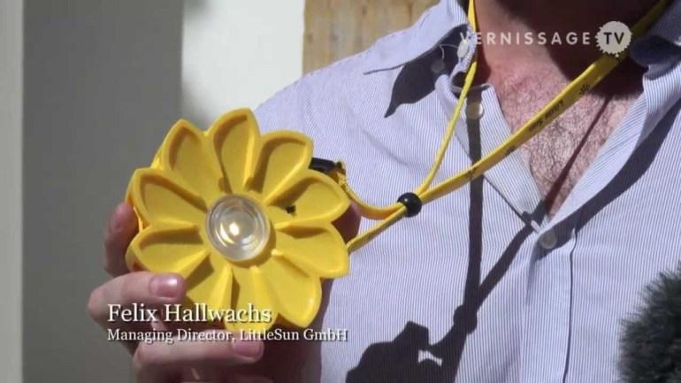 """เครื่องกำเนิดแสงขนาดพกพาช่วยเหลือชาวชนบท """"Little Sun"""" by Olafur Eliasson & Frederik Ottesen 23 - Lamp"""
