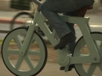 จักรยานกระดาษขี่ได้จริง  15 - cardboard