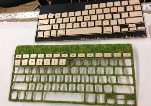 Natural Keyboard เมื่อเทคโนโลยีมาพบกับธรรมชาติ 20 - Keyboard