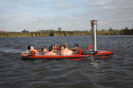 แช่น้ำล่องเรือชิลๆกับ hotTug jacuzzi boat  15 - boat