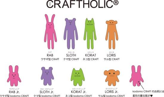 craftholic2 550x325 CRAFTHOLIC สิ่งมีชีวิตจากโลก Craft เข้ามาโลดเเล่นในโลกมนุษย์แห่งนี้