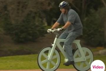 จักรยานกระดาษขี่ได้จริง  34 - cardboard