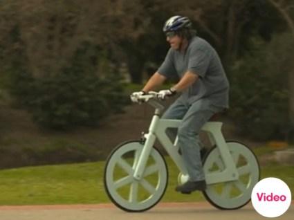 จักรยานกระดาษขี่ได้จริง  3 - cardboard
