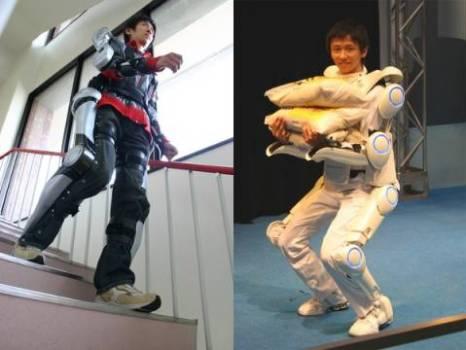ชุดหุ่นยนต์เพื่อเป็นอุปกรณ์ในการช่วยเหลือคนพิการและคนชรา 17 - Cyberdyne Hal Robotic Exoskeleton
