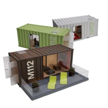 Model Container Homes ของเล่นมีดีไซน์ 14 - Art & Design