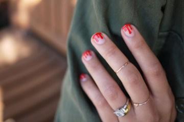 DIY.drippy nail ต้อนรับฮาโลวีน 4 - DIY