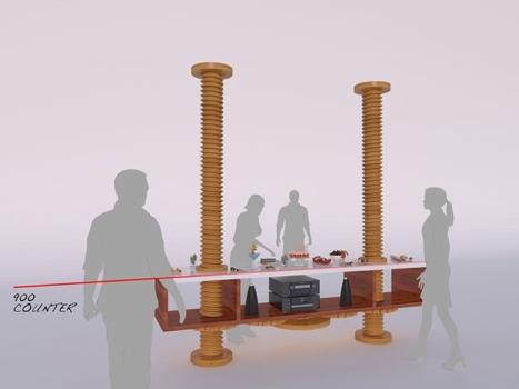 25551121 142555 เฟอร์นิเจอร์สำหรับบ้านพื้นที่น้อย ใช้ประโยชน์หลายอย่าง โดยการปรับระดับในแนวดิ่ง