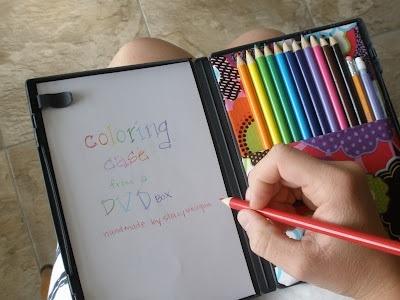25551123 172835 DIY กล่องดินสอสี จากกล่อง DVD เก่า