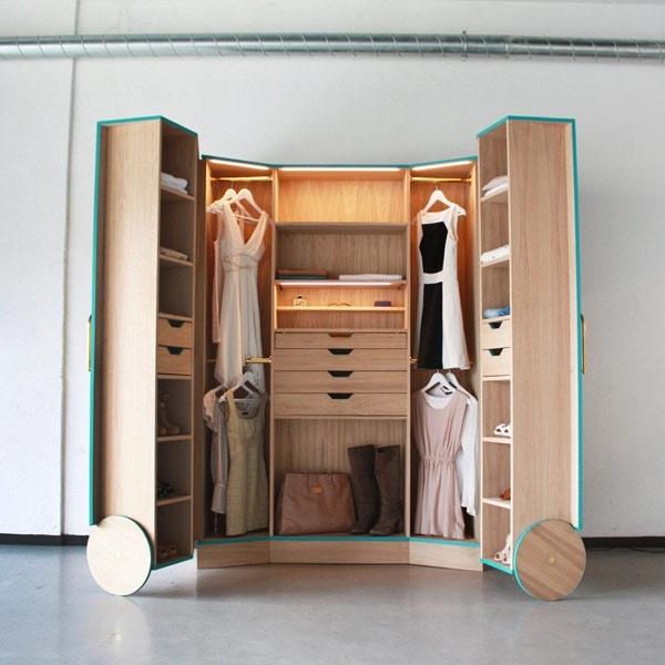 25551124 175909 ตู้เสื้อผ้าผสม Walk In Closet  เปิดปิดได้ ประหยัดพื้นที่
