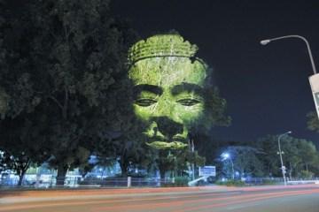 ภาพประติมากรรมขอมบนต้นไม้..คืนจิตวิญญานและพลังจากธรรมชาติสู่งานประติมากรรมอีกครั้ง 10 -