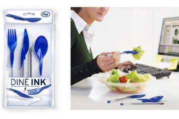 Dineink - Pen Cap Cutlery 16 - ink