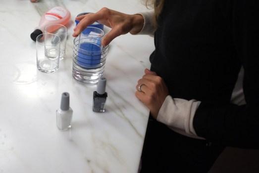 DSCF8126 523x350 DIY: Marbleized + Striped Glassware สร้างสรรค์แก้วลายหินอ่อน สำหรับปาร์ตี้