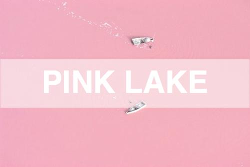 Strawberry Milkshake Lake @Retba ทะเลสาบนมเย็น 15 - Lake
