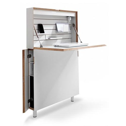 25551213 172931 Flatmate โต๊ะคอมพิวเตอร์ ประหยัดพื้นที่ อย่างแบน