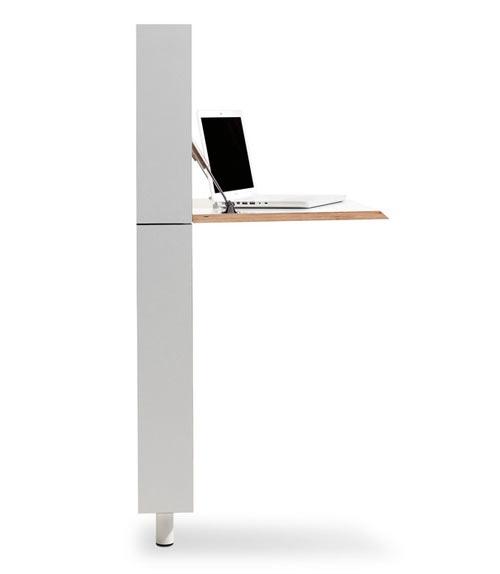 25551213 172948 Flatmate โต๊ะคอมพิวเตอร์ ประหยัดพื้นที่ อย่างแบน
