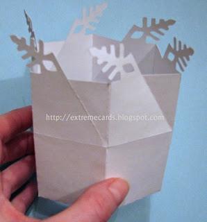 25551215 204317 DIY และเทมเพลท กล่องของขวัญ snowflake