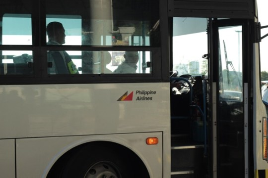 Shuttle Bus ของ Philippines Airlines