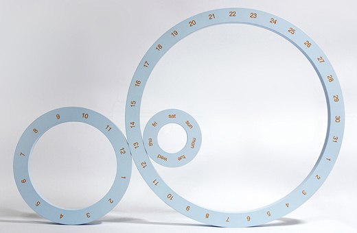 ONE Table Calendar  13 - circle