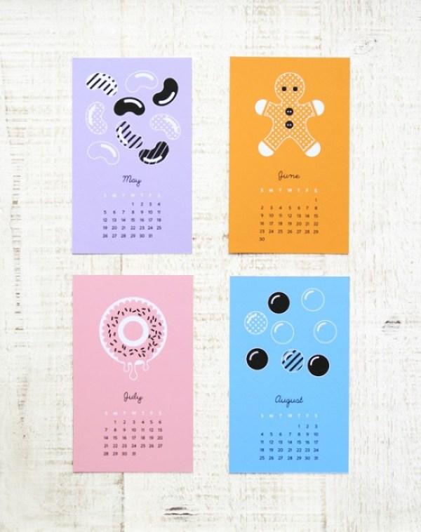 sweet calendar 02c Sweet Calendar..ฟรี!..เทมเพลทปฏิทินหวานๆรับปี 2013