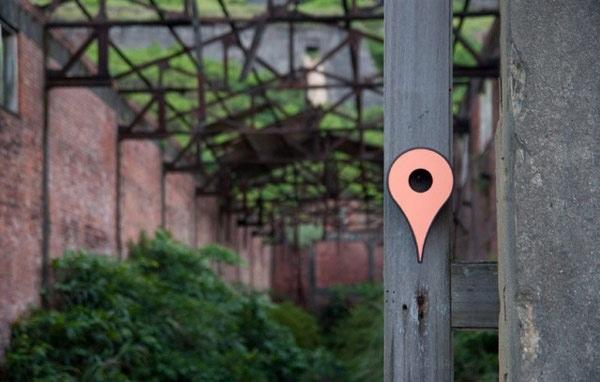 สัญลักษณ์บน Google Map ที่กลายเป็นบ้านนก!! จุดหมายของนกบนโลก Offline 14 - Google