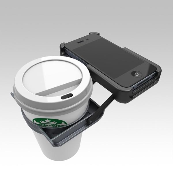 25560128 174443 ที่วางถ้วยกาแฟ บน iPhone..จะกล้าใช้มั๊ยเนี่ย???