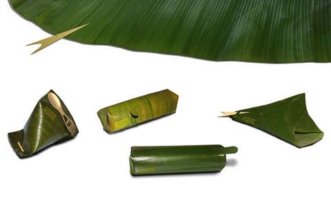 eco2 Banana Leaf Packaging บรรจุภัณฑ์จากวัสดุใบตอง