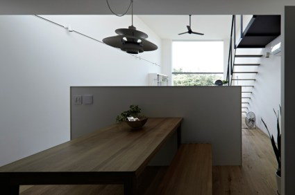 hiyoshi 11 425x282 The rectangular house from Enjoy and Architecture